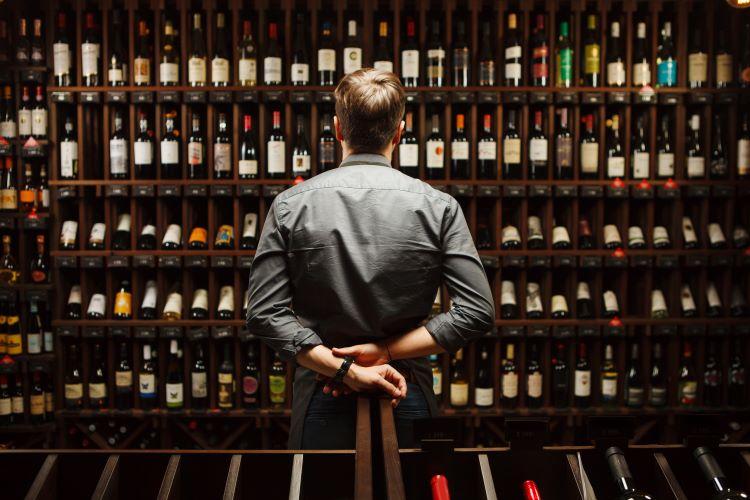 Red wine bottles 750px