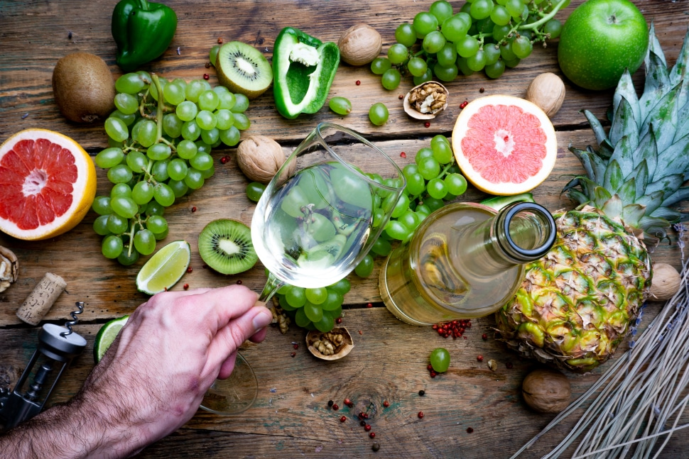 Chardonnay can have a variety of different flavors depending on the region.