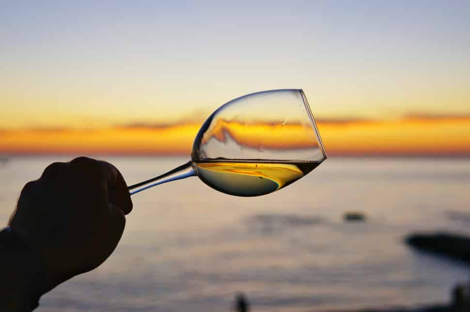 Chardonnay is a classic dry white wine. Sweetness depends on the fermentation process.
